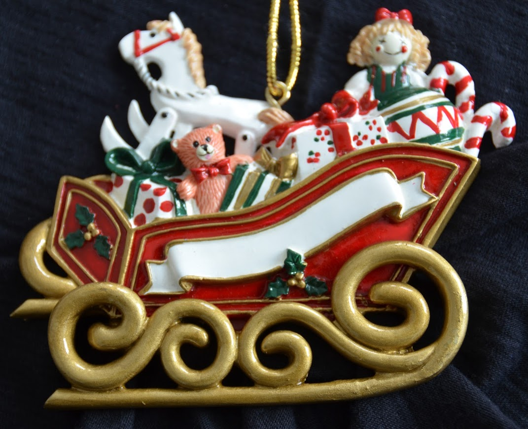 Toy Filled Sleigh